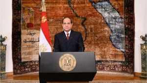 السيسى: الشعارات لا تبني دولاً والمصريون قادرون على حماية بلادهم