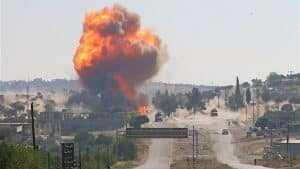 إخلاء 10 قرى روسية إثر اندلاع حريق هائل غرب موسكو | فيديو