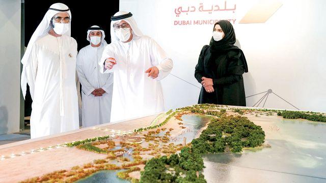 بن راشد محمد بن راشد: مستمرون في تطوير مدينتنا وبناء مستقبلنا • أخبار السياحة