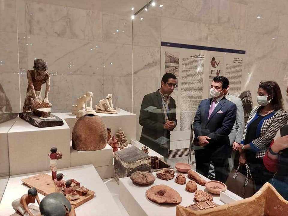 مدير الإيسيسكو في ضيافة متحف الحضارة